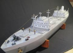 Tankers, The Crown S2, Model making Cape Town