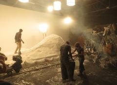 Snow mountain in the studio, Special effects snow South Africa