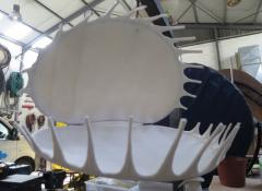 Fabricated venus flytrap, SFX Fabrication Cape Town