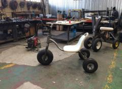 Adult tricycles for TV commercial, Fabrication, Cape Town