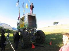 Arla Monster truck, Fully Fabricated Monster truck, SFX Cape Town
