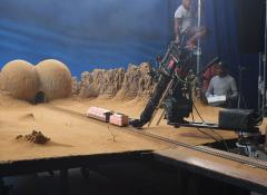 Model train and landscape for Eis commercial. Special Effects Model making Cape Town