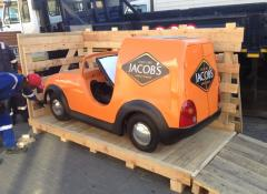 Jacobs car, custom fabricated and functional car. Fabrication Cape Town