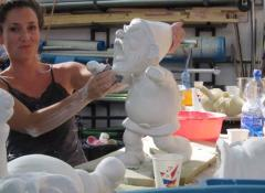Plaster cast gnome, fabrication South Africa