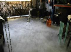 Layflat Smoke machine
