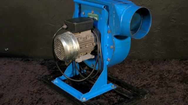 Squirrel Fan (Centrifugal, High Volume/Heat)