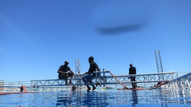 Waves and Sea simulation rig, Special Effects water, Cape Town