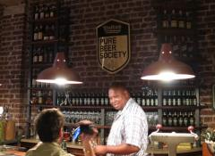 Sheet metal Beer plaque, Metal Fabrication South Africa