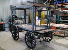 Fosters Wagon WIP, Fabrication, Cape Town