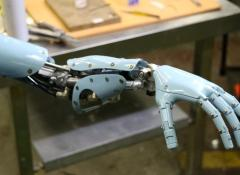 Bionic arm for FNB commercial, Fabrication, Cape Town