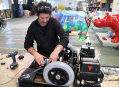 Amazon Robot WIP, Nedbank TVC, Fabrication, SFX, Cape Town