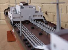 Tankers details, The Crown S2, Model making Cape Town