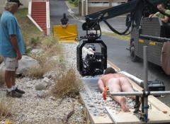 Custom made pebbles and sliding rig. SFX Fabrication and Effects, Cape Town