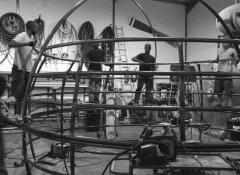 Steel structure. Special effects metal work and atmospherics Cape Town