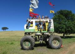 Arla Monster truck, Fully Fabricated Monster truck, SFX Cape Town