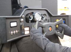 Fabricated dashboard, Special Effects Fabrication, Cape Town