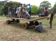 Zywiec 'Giant Skateboard' Special Effects Cape Town