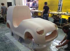 Jacobs car, custom fabricated, functional car. Fabrication Cape Town