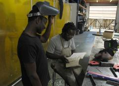 Welding training. Special Effects South Africa