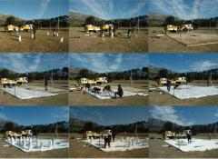 Snow Hole, Fabricated Ice sheets and snow, Special Effects Cape Town
