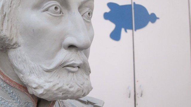 Portrait sculpture in clay, Sculpture fabrication South Africa