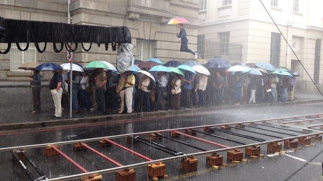 SFX rain, city of Cape Town